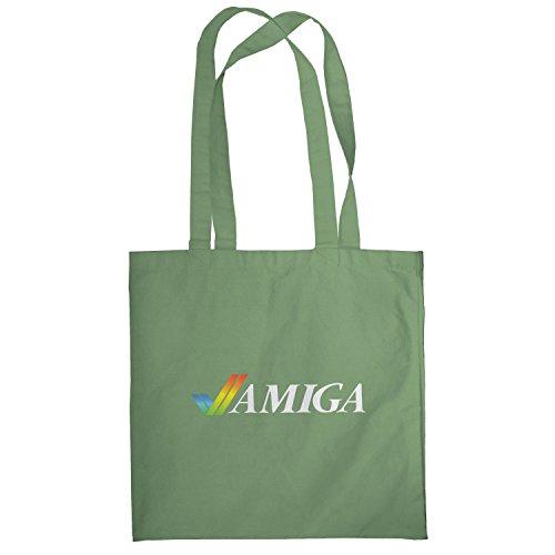 Texlab–Classic Amiga–sacchetto di stoffa Oliva