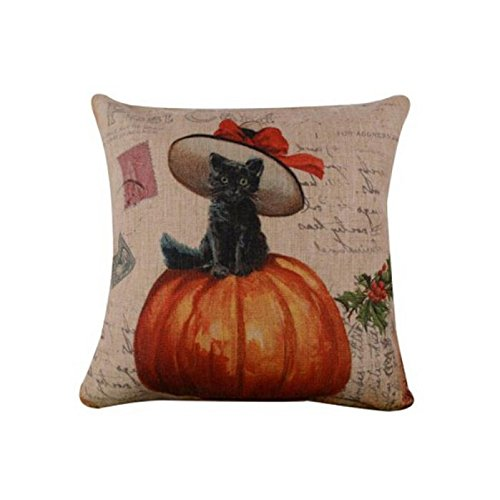 SEWORLD Halloween Kissenbezug Sofa Taille Wurf Kissenbezug Home Decor C