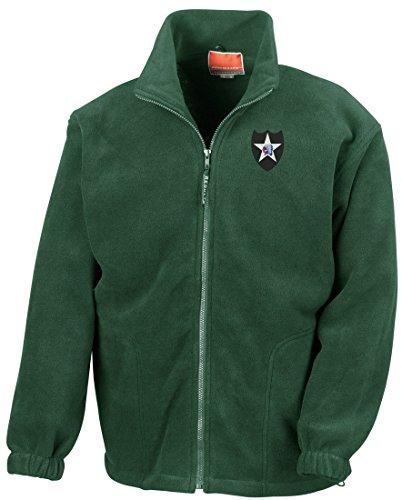 Division Embroidered Logo - Full Zip Fleece By Military online (Vietnam-veteran-fleece-jacke)