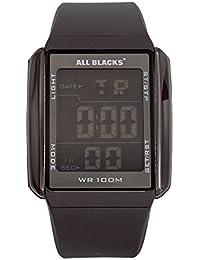 All Blacks Montre Homme Digitale Quartz avec Bracelet en Silicone – 680033