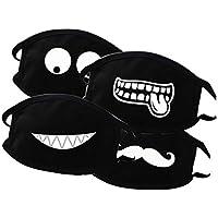 4 PCS Creative Light-emittierende Maske, männliche und weibliche Baumwoll Maske, bequeme Staubmaske KZ0174/0175... preisvergleich bei billige-tabletten.eu