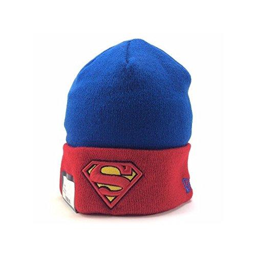 0be3944094d49 New Era x DC Comics - Bonnet Homme Superman Char Contrast Cuff - Blue Red
