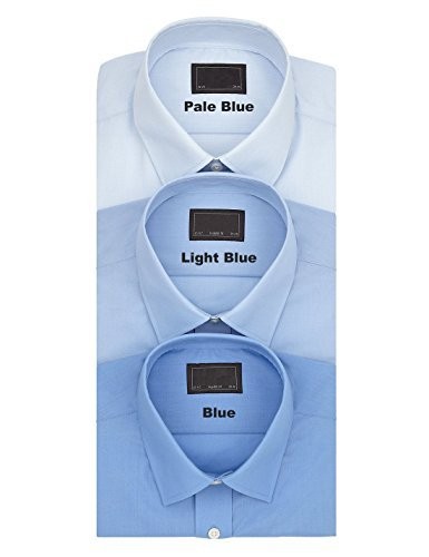 fa-m-ou-s-store-easy-care-regular-fit-short-sleeve-shirt-3-colour-choices-145-blue-2026w-ll-0495