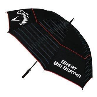 2015 Callaway Great Big Bertha 64' Double Canopy Mens Golf Umbrella Black