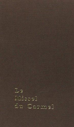 Missel du Carmel par Collectif