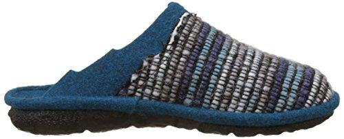 Romika Damen Mikado 96 Pantoffeln, Mehrfarbig (Blau-Multi (502)), 37 EU