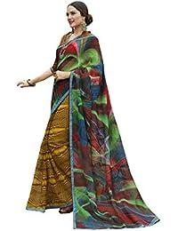 fa0cacc42f Aarrah Multicolor Rajjo Net Embellished Saree(RASHI0846SSSR002_Multicolor)