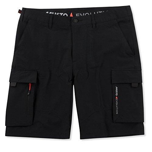 Musto Deck UV Fast Dry Short 2018 - Black 38 Double Pocket Cargo