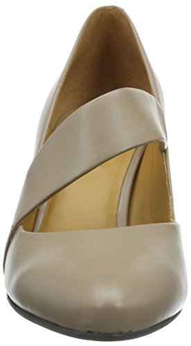 Ecco Damen Alicante Mary Jane Halbschuhe Beige (WOODROSE 1702)