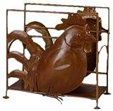 Silea 1035/5081 - Portariviste in ferro con gallo