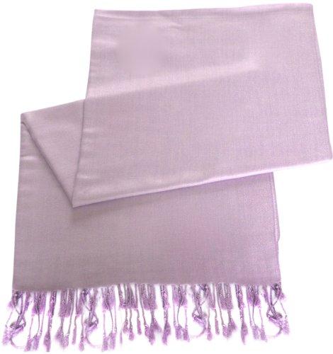 Lila Einfarbiges Design Stola Schal Umschlagtuch Schultertuch Tuch CJ Apparel