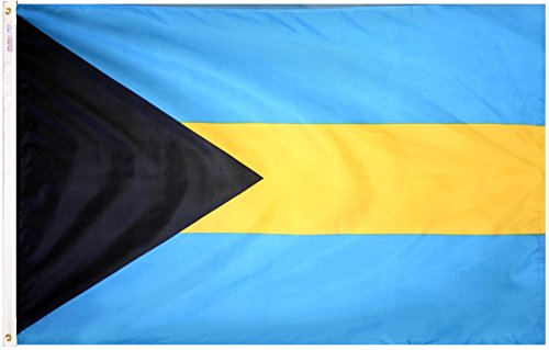 Annin Flagmakers Nylon SolarGuard NYL-Glo Bahamas Flagge 3x5' Nicht zutreffend - Nyl Banner
