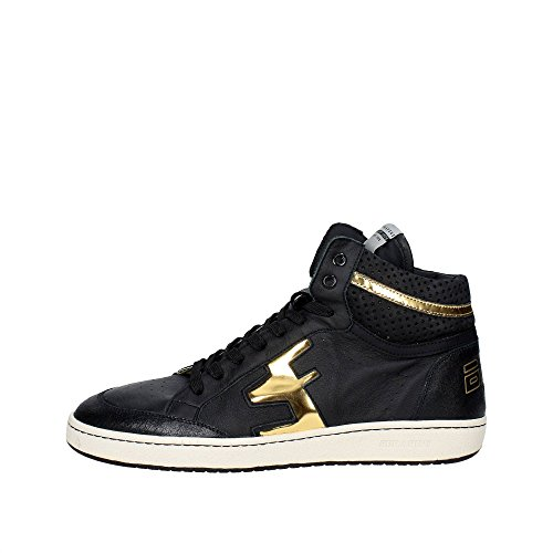 Serafini CAMP.101 Sneakers Uomo Pelle Nero Nero 42