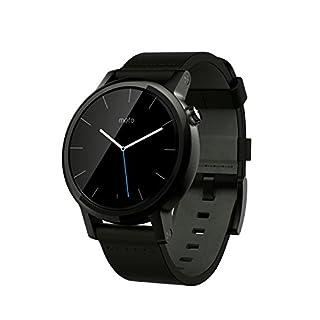 "Motorola Moto 360 - SmartWatch (WiFi, pantalla de 1.37"", 2ª generación, 42 mm, QC 8026, 512 MB de RAM, Android Wear), negro (B0151DFPN2) | Amazon price tracker / tracking, Amazon price history charts, Amazon price watches, Amazon price drop alerts"