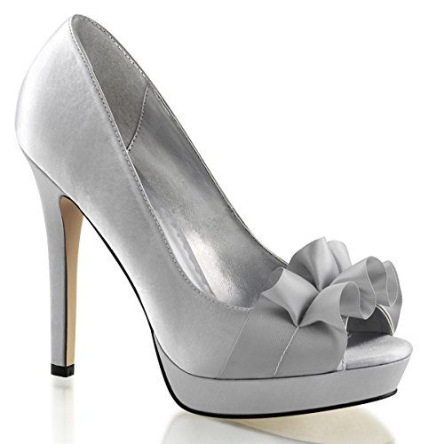 Heels-Perfect, Scarpe col tacco donna Argento (Silber (Silber))
