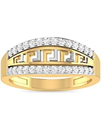 PC Jeweller The Dorotha 22KT Yellow Gold Rings