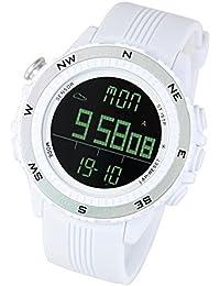 [LAD WEATHER] Sensore tedesco bussola digitale Previsioni del tempo Altimetro Barometro Cronografo Multifunzione orologi sportivi/ all'aperto (Alpinismo / a piedi / Campo) Orologio da polso