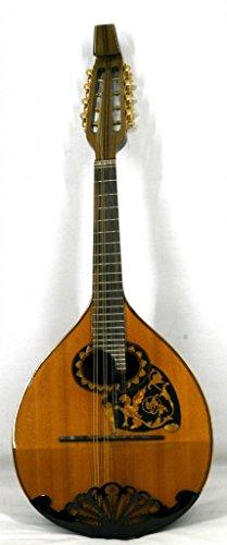 Musikalia luthery Vintage Mandoline Modell 'Beethoven in Rosenholz, biconvex, Dragon eingelegten und hacksaw-worked Gard, gelockt Hals