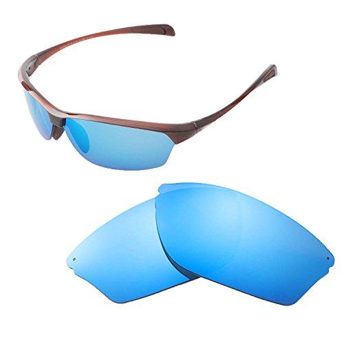 Walleva Ersatz Linsen für Maui Jim mit Sand-Verschiedene Optionen, Damen Unisex, Ice Blue Coated - Polarized, Einheitsgröße