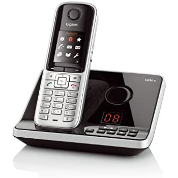 gigaset s810a dect schnurlostelefonmit elektronik. Black Bedroom Furniture Sets. Home Design Ideas