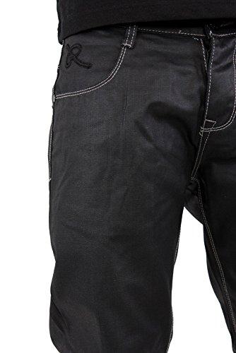 Regal Classic Lack-optik Jeans Nass Schwarz