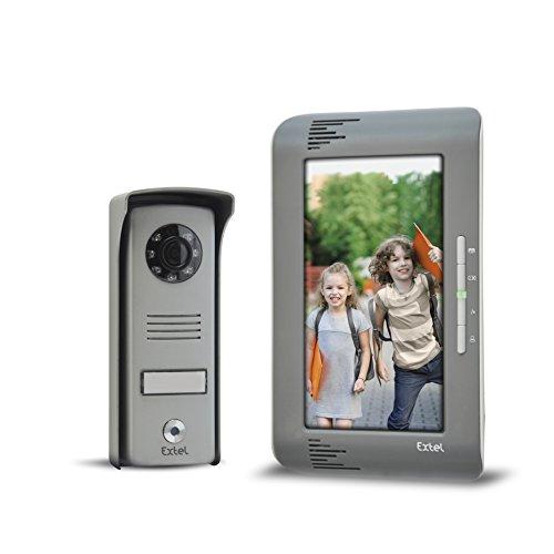 "EXTEL UP Videosprechanlage 2 Draht Technik - 7\"" Monitor"