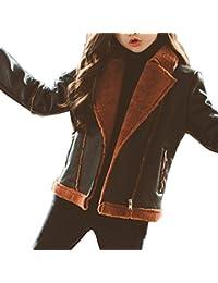 es Amazon chaqueta cuero Niña Ropa R0FqOw