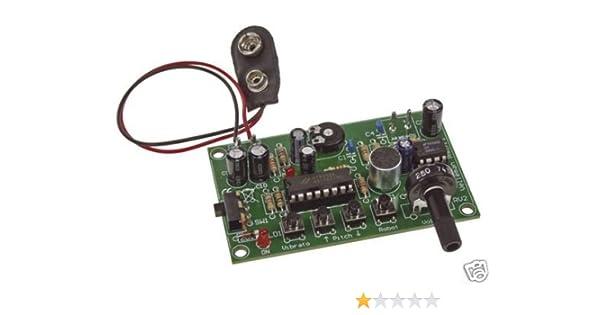 KIT ELECTRONIQUE MODIFICATEUR VOIX ROBOT