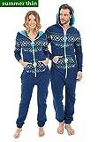 ZIPUPS Jumpsuit blau XL