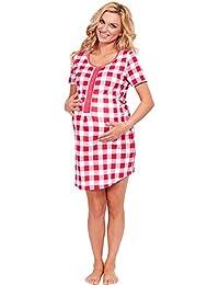 Italian Fashion IF Womens Nightwear Night Shirt in various Colors Made in EU