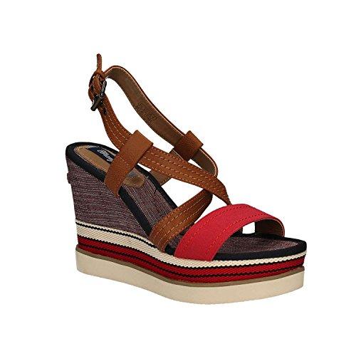 Wrangler WL171664 Sandale Femme rosso - 87 RED