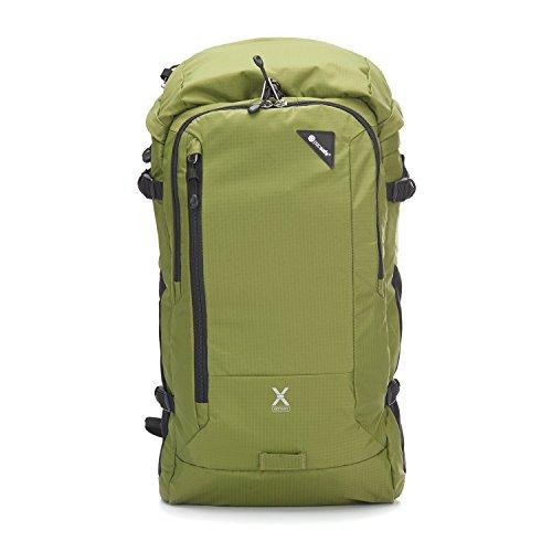 Pacsafe Venturesafe X30 Anti-Diebstahl Rucksack, Reiserucksack, Reisegepäck mit Sicherheitstechnologie, 30 Liter, Olive Grün/Olive Green