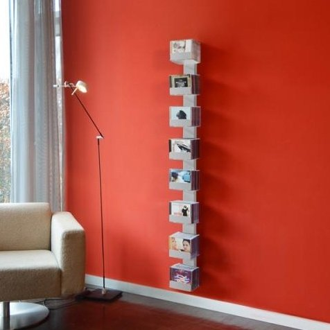 Radius CD-Baum Regal Silber Wand 2 groß 727 C - Serie 2 Regal-audio