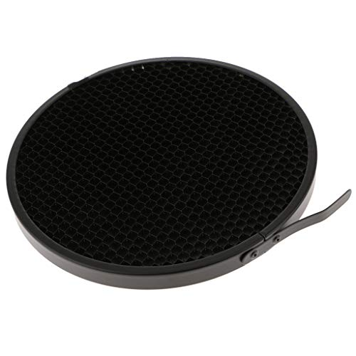 perfk 50 Grad Wabengitter Gitter Honeycomb Grid aus Aluminiumlegierung Beam Diffusor