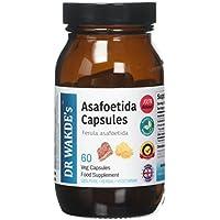 DR WAKDE's Organic Asafoetida Capsules I FREE SHIPPING I 100% Natural Herbal Supplement I 60 Veggie Capsules preisvergleich bei billige-tabletten.eu