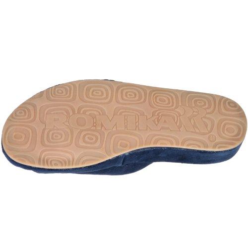 Pantofole Da Uomo Romika Bologna Blu (navy 503)