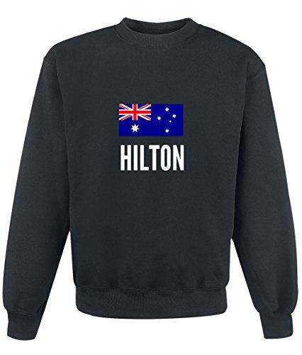 Felpa Hilton city Black
