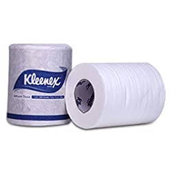 Kleenex Toilet Tissue Roll in Bulk, (120 Tissues per Roll, Pack of 100 Rolls) 1042 by Kimberly-Clark