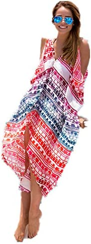 Multi Color Sarong & Cover Ups For W