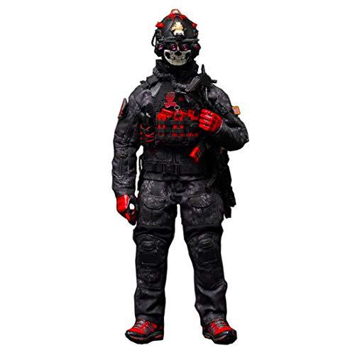 Batop CQB ZERT Armee Kostüm Figuren Zubehör für 1/6 Soldat Actionfigur Modell Spielzeug Figuren Militär Soldat Modell (Körper und Kopf Nicht enthalten)