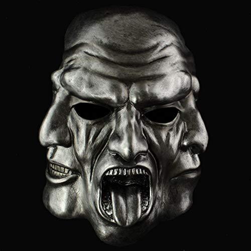 FWQAZ Halloween Karneval Party Kostüm Clown Maske des Grauens aus Latex für Erwachsene (Bösen Guy Kostüm)