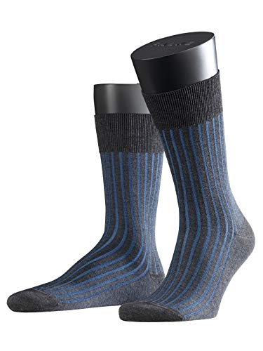 falke herrensocken FALKE Herren Socken 14648 Shadow Business SO, Gr. 43/ 44 Grau (anthracite mel. 3191)