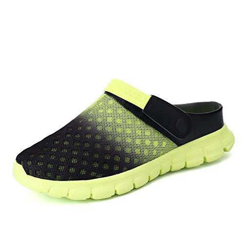 Sommer Männer Sandalen Atmungsaktives Mesh Männliche Sandale Sommer Strand Männer Schuhe Wasser Männliche Hausschuhe Mode Rutschen Günstige Schuhe-7 UK