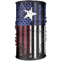 hdyefe Headkerchief Women Men Headwear Bandanas Wrap Scarf Headscarf Sweat Wicking Headbands Bandana Texas American Flag Liner Head 25X50cm