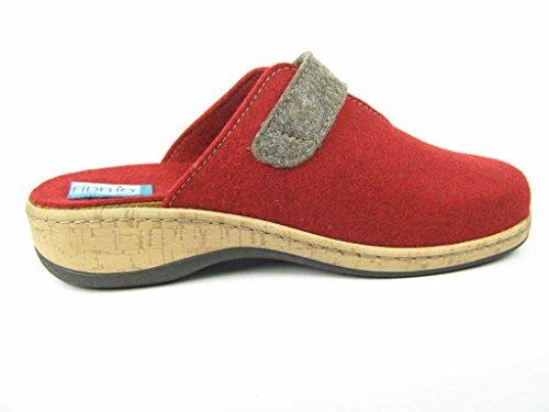 Fidelo, Zoccoli donna Rosso rosso Rosso (rosso)