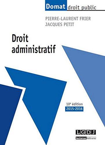Droit administratif, 10ème Ed.