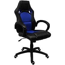 regalosMiguel Sillas Gamer Pro. Sillas Gaming Sillas Gamer Azul