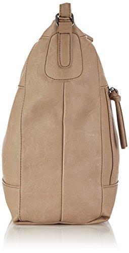 Tamaris EFFIE Hobo Bag 1200142-428 Damen Schultertaschen 26x33x12 cm (B x H x T) Beige (truffle 428)