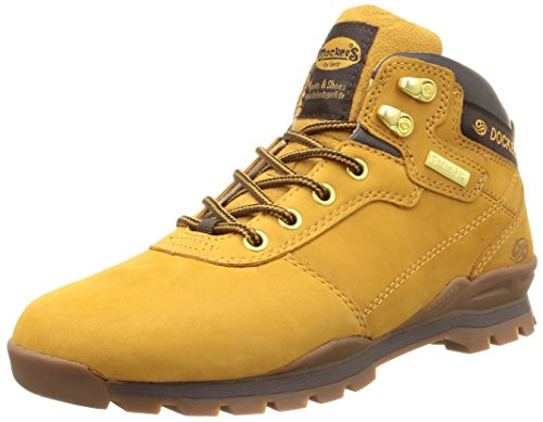 Dockers  35SY002,  Scarpe sportive outdoor uomo Giallo Jaune (Golden Tan 910) 42