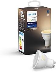 Philips Hue White Ambiance LED inteligente GU10, luz blanca de cálida a fría, compatible con Bluetooth y Zigbe